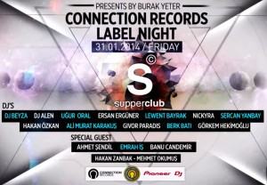 Connection Records Label Night