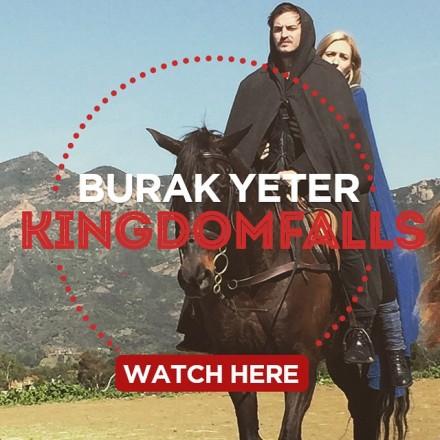Burak Yeter - Kingdom Falls Cover